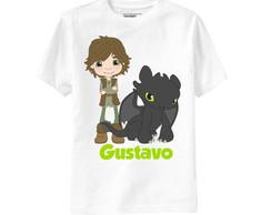 Camiseta Como Treinar Seu Drag�o