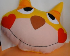 Almofadas Infantis -Gato Dorminhoco