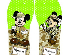 Chinelo Mickey Safari