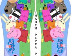 Chinelo Personalizado Peppa Pig