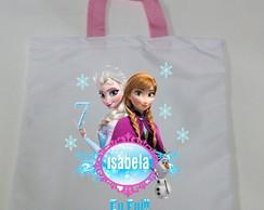 Sacola Ecobag Personalizada Frozen