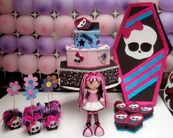 Monster High - Kit festa em EVA