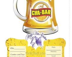 Convite Ch�-Bar