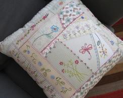 capa para almofada garden