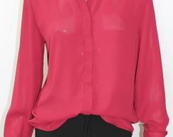 Camisa Vinho Pedraria na Gola Cod 0002.5