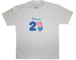 Camiseta Infantil George Pig 1139