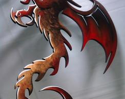 Enfeite de parede Drag�o vermelho 1