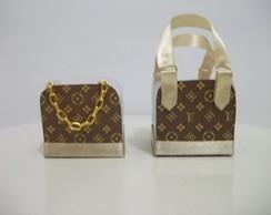 Forminha doce Louis Vuitton - tradiciona