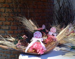 Barquinha De Flores Secas & topper