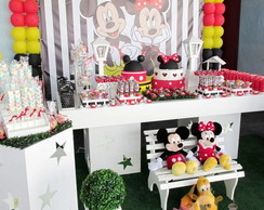 Decora��o Clean Mickey e Minnie