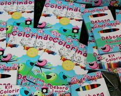 Kit Colorir Passarinhos