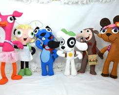 Kit Decora��o Festa infantil Turma Doki