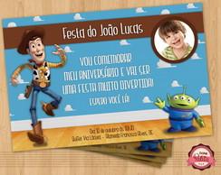 Convite de anivers�rio TOY STORY