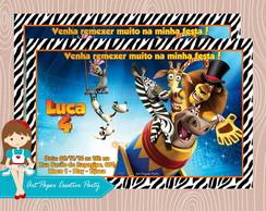 Arte Convite Madagascar