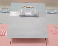 Caixa para noivinhos/pagens