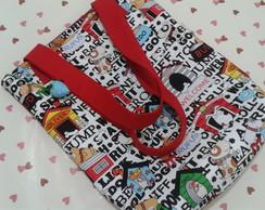 Tot Bag em tecido importado