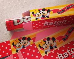 Mickey & Minnie - Caixa Baton