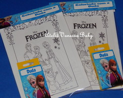 Kit pintura Frozen