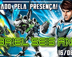 Kit com 40 Tags adesivos Max Steel