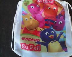 Kit de 10 mochilinhas personalizadas