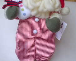 Papai Noel Pantufa Boneco de Neve