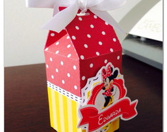 Minnie - Caixa Scrap Festa