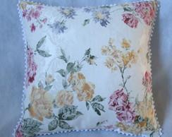 Almofada estampada em tecido jacquard