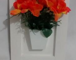 Quadro com Vaso em MDF