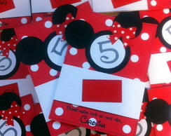 Convite Scrapbook - Minnie
