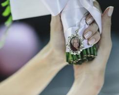 Medalha de buqu� personalizada