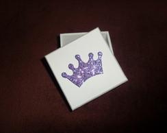Caixa Mdf Lembran�a Coroa Luxo