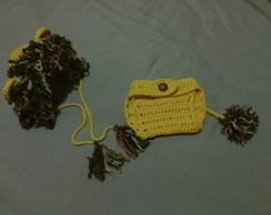 Conjunto Le�ozinho em Croch�
