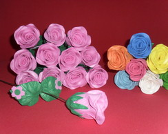 Flores em Eva p/ Decora��o/Lembrancinha.