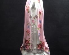 Nossa Senhora de Fatima Gr.Manto Rosa