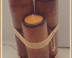 vela de bambu
