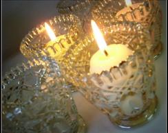 Port velas em vidro especial