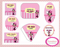 PROMO��O Kit Digital Minnie Rosa