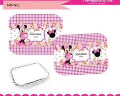 Adesivos marmitinha Minnie rosa