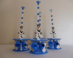 Centro de mesa - Lembrancinha Frozen