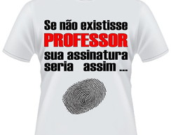 Camiseta Professor