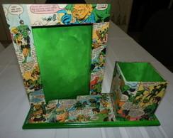 Porta-Retrato Lanterna Verde