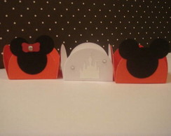MICKEY E  MINNIE 50 FORMINHAS DE PAPEL