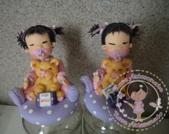 Kit De Potes Meninas Japonesa