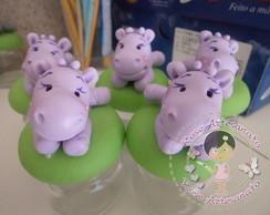 Lembrancinha Hipopotamo Mini Potinho