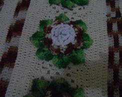 Tapete em croch� barroco