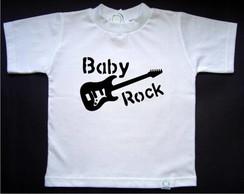 Camisetinha Baby Rock