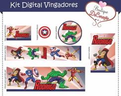 Kit Festa Digital - Vingadores