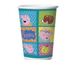 Copo de Papel Peppa Pig 330ml
