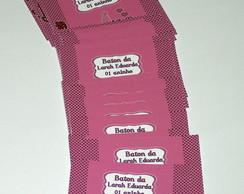 Adesivo Chocolate Baton Boneca