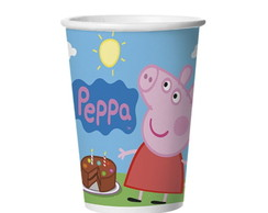Copo de Papel Peppa Pig 180ml